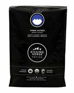 Kicking Horse Coffee three sisters