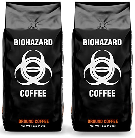 Biohazard Ground Coffee