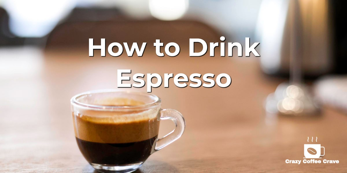 how to drink an espresso