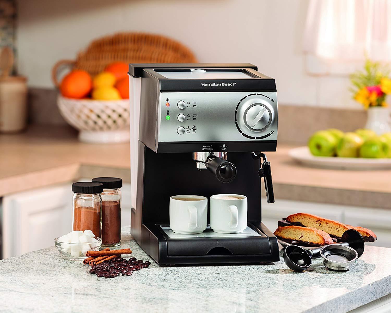 Hamilton Beach Espresso & Cappuccino Maker