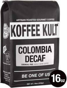 Koffee Kult, Colombian Decaf Coffee