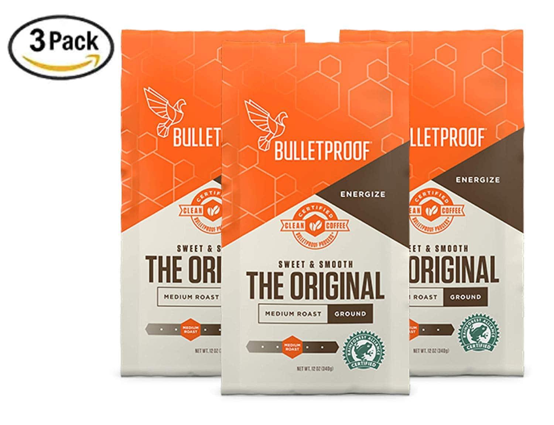 3 pack bullet proof coffee