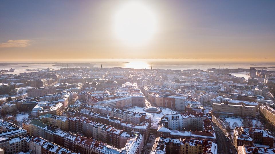 Helsinki Finnish Temple Square