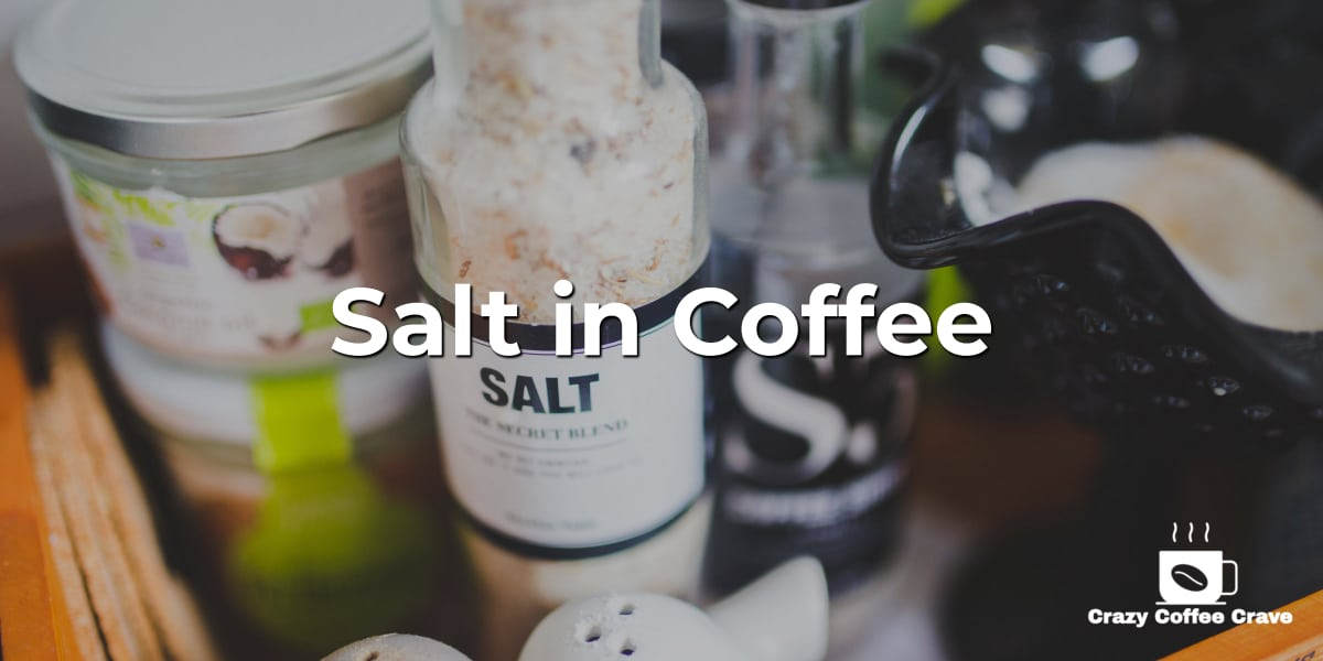 salt in coffee