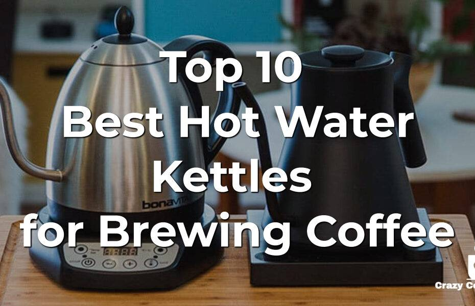 Top 10 Best Hot Water Kettles for Brewing Coffee