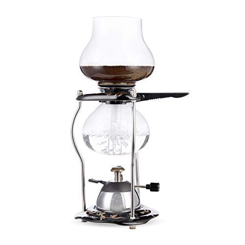 Yama Glass Tabletop Ceramic 20 oz Syphon Coffee Maker