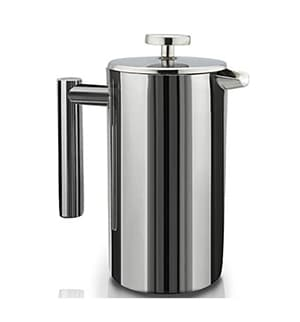 SterlingPro Double Wall - Best Stainless Steel French Coffee Press