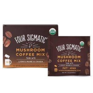 Four Signatic Mushroom Coffee