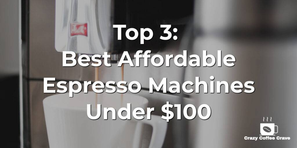espresso machine under 100