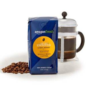 AmazonFresh Direct Trade Rwanda Whole Bean Coffee