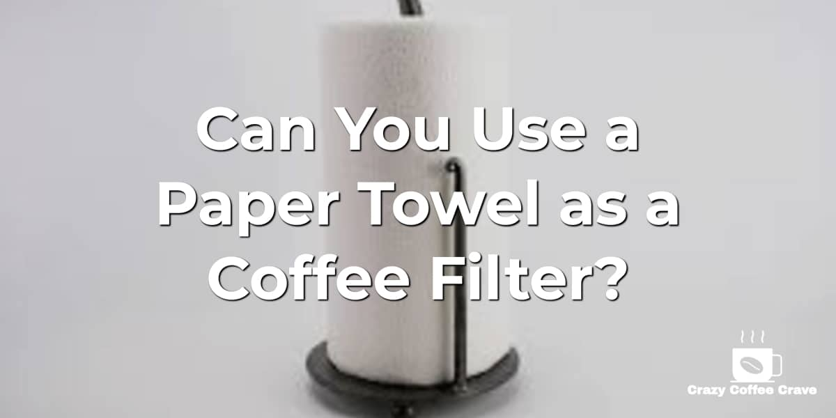Can You Use a Paper Towel as a Coffee Filter