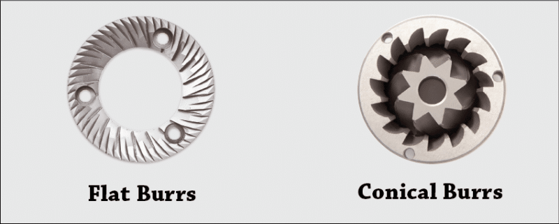 Conical VS Flat Burrs: