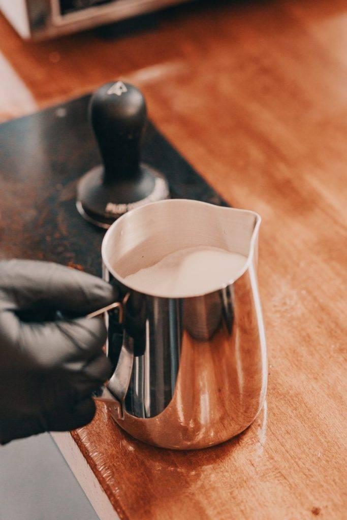 steamed milk