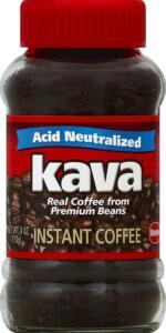 Kava Acid Neutralized Instant Coffee:
