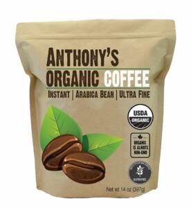 Organic Instant Coffee USDA Organic & Gluten-Free