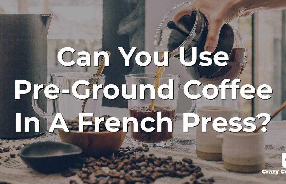 Can You Use Pre-Ground Coffee In A French Press?