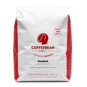Coffee Bean Direct Hazelnut Flavored