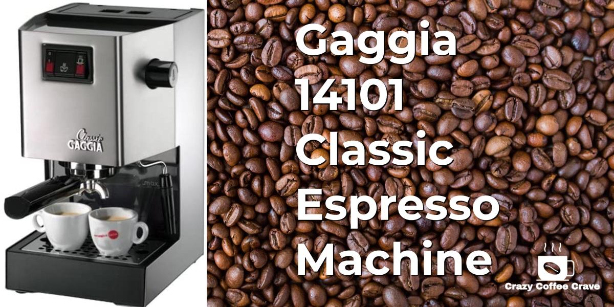 Gaggia 14101 Classic Espresso Machine (1)