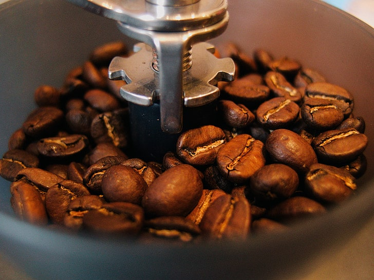 stainless steel coffee grinder