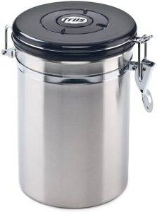Friis 16-Ounce Stainless Steel Coffee Vault