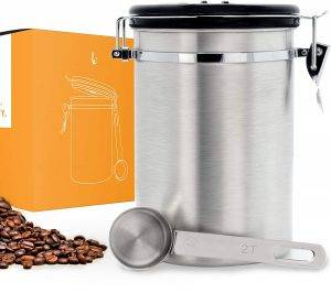 Kitchables Coffee Canister with AirFresh Valve Technology