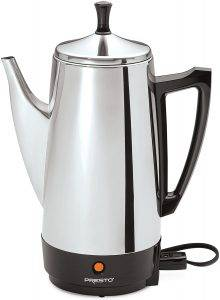 The Presto 02811 12-Cup Stainless Steel Coffee Maker