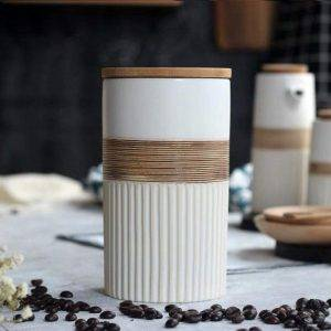 Whewer Ceramic Coffee Container