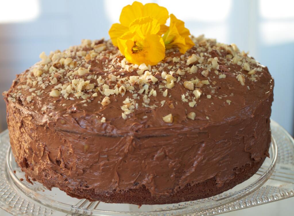 Traditional Mocha Chocolate Cake