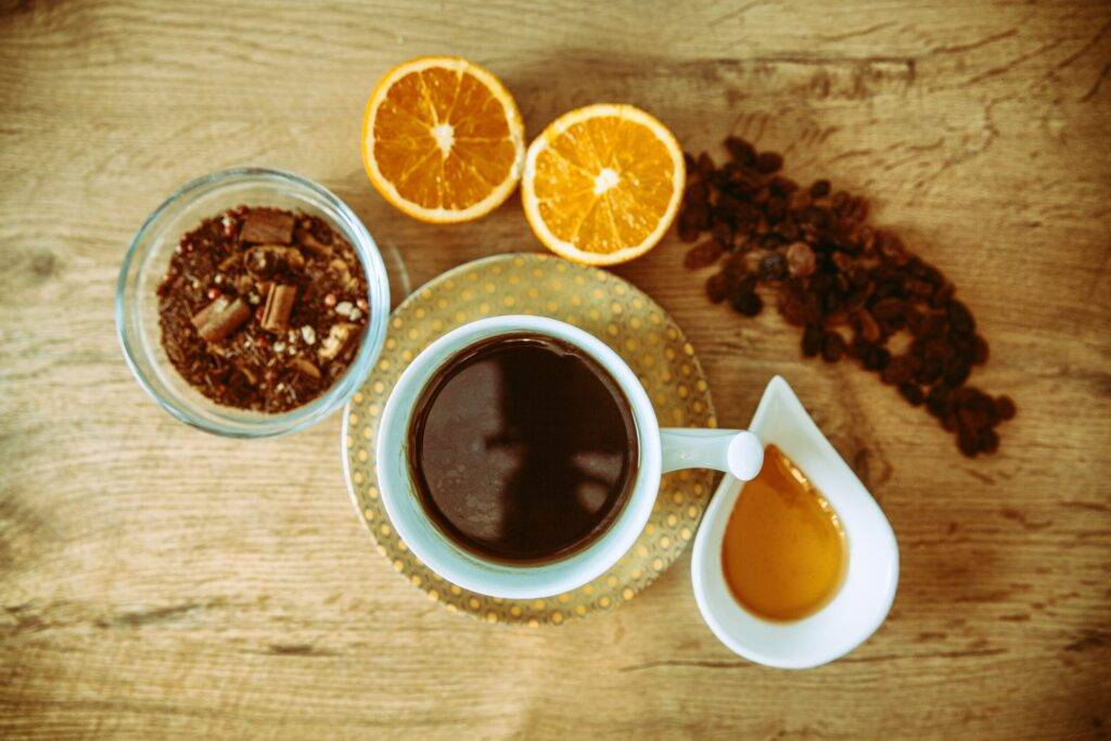 Normandy, an Autumn Flavored Coffee Drink Recipe