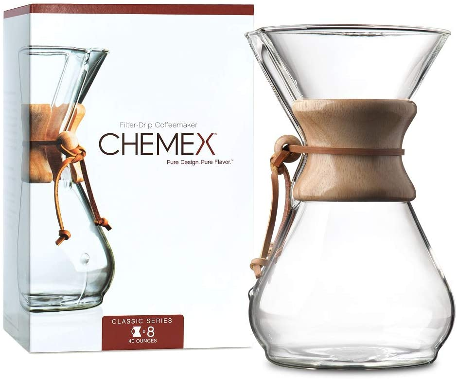 The Chemex Pour Over Coffee Maker