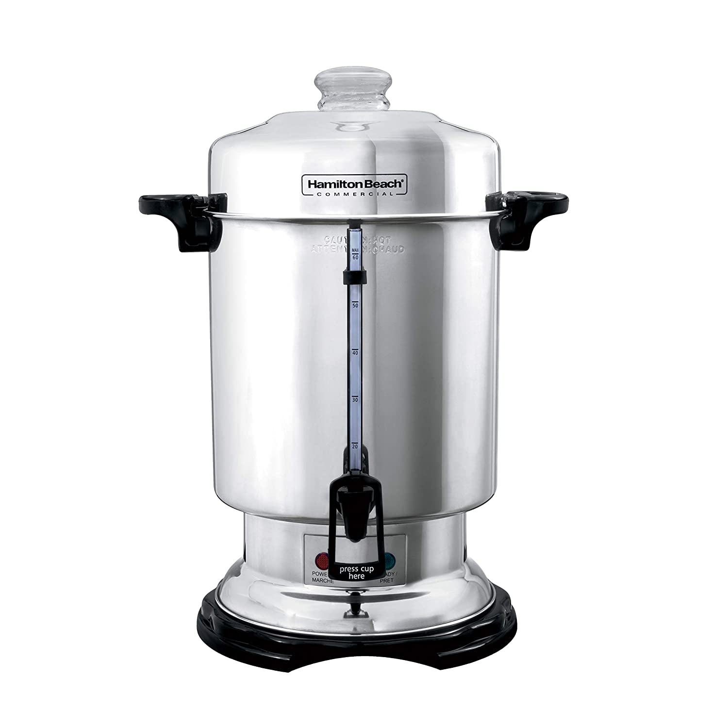 Hamilton Beach Commercial 60-Cup Stainless-Steel Coffee Urn