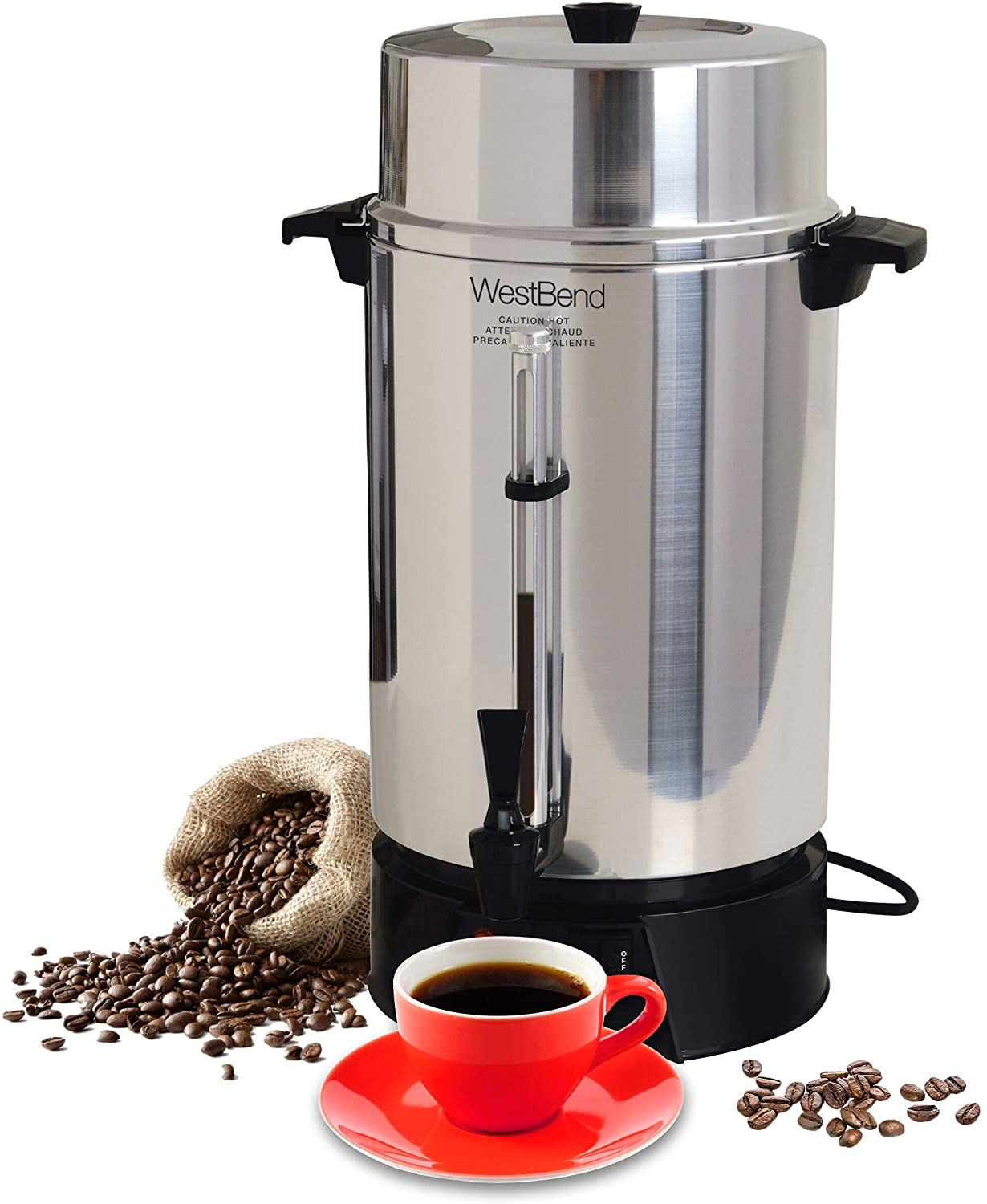 West Band 100-Cup Commercial Coffee Urn