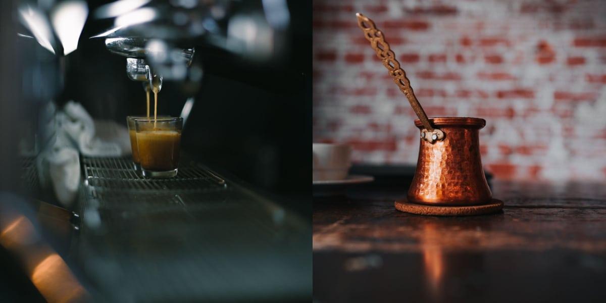 espresso vs turkish