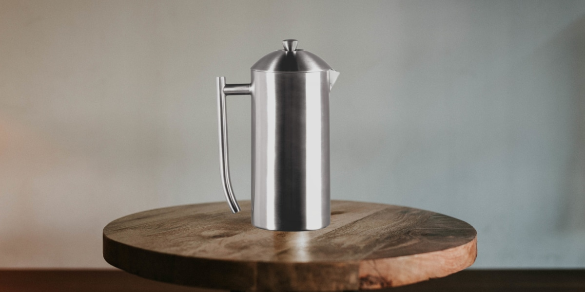 Frieling Double-walled Stainless Steel French Press Coffee Maker (1)