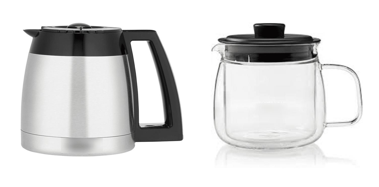 Thermal vs Glass Carafes