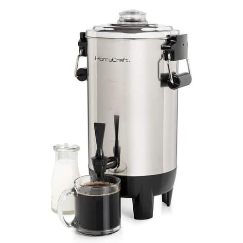 HomeCraft CU30SS Quick-Brewing 1000-Watt Automatic Coffee Urn