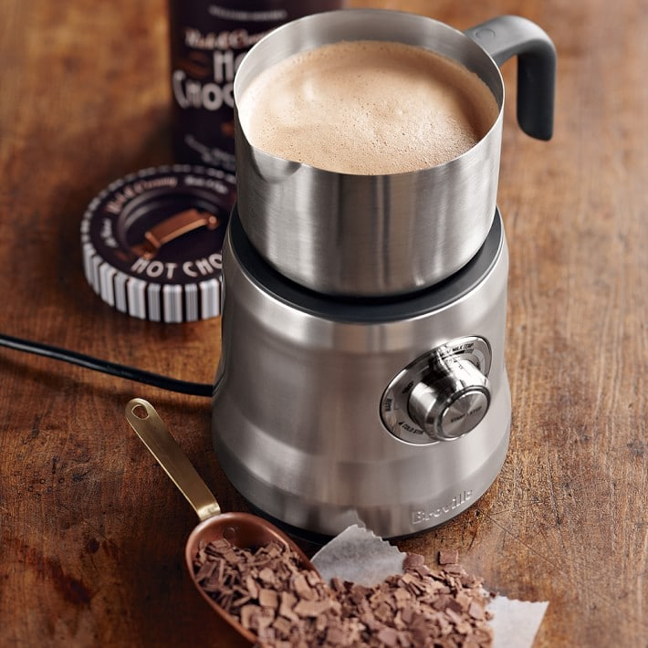 breville milk cafe electric frother o